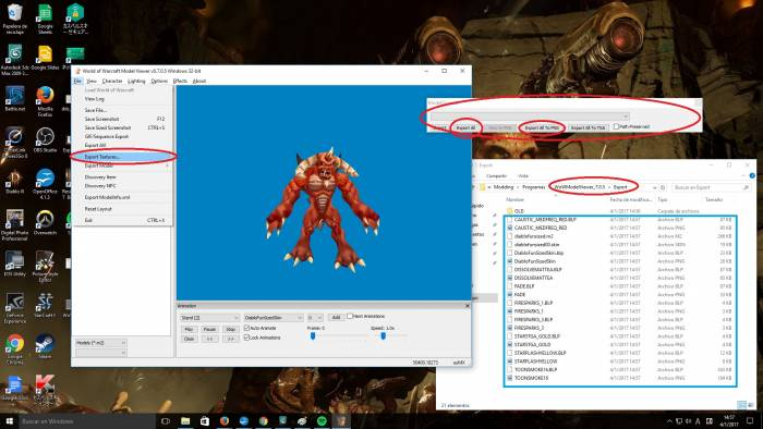 Importing World of Warcraft 3D Models to 3DS Max 2009